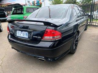 2005 Ford Falcon BA Mk II XR6 Black 4 Speed Sports Automatic Sedan