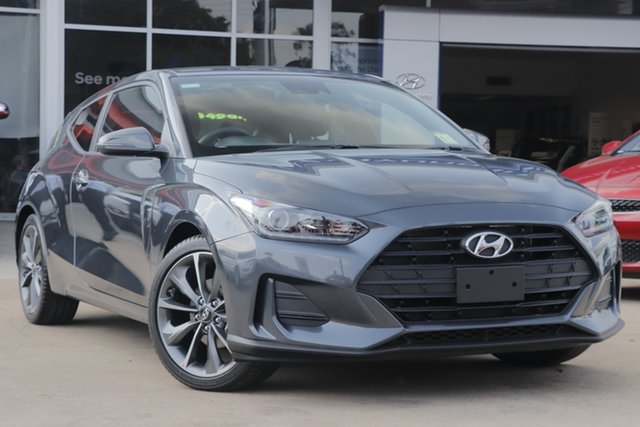 New Hyundai Veloster JS MY20 Coupe, 2019 Hyundai Veloster JS MY20 Coupe Yg7 6 Speed Automatic Hatchback