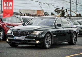 2012 BMW 740Li F02 Sapphire Black Sports Automatic Sedan.