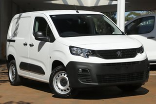 2019 Peugeot Partner K9 MY19 130 Low Roof MWB THP White 8 Speed Sports Automatic Van.