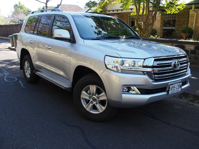 Demo Toyota Landcruiser VDJ200R GXL, 2019 Toyota Landcruiser VDJ200R GXL Silver Pearl 6 Speed Sports Automatic Wagon