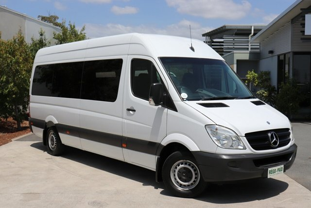 Used Mercedes-Benz Sprinter NCV3 MY10 316CDI High Roof ELWB, 2010 Mercedes-Benz Sprinter NCV3 MY10 316CDI High Roof ELWB White 5 Speed Automatic Van