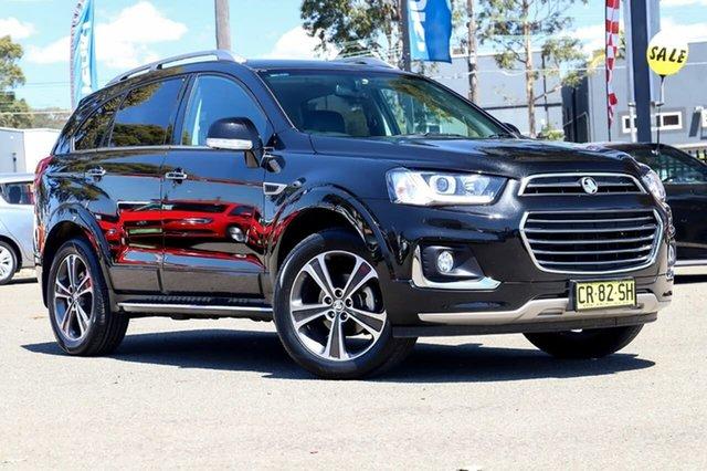 Used Holden Captiva CG MY18 LTZ AWD, 2018 Holden Captiva CG MY18 LTZ AWD Black 6 Speed Sports Automatic Wagon