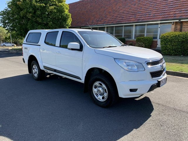 Used Holden Colorado RG LS, 2015 Holden Colorado RG LS White 6 Speed Automatic Dual Cab