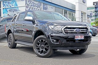 2019 Ford Ranger PX MkIII 2019.75MY XLT Pick-up Double Cab Black 6 Speed Sports Automatic Utility.