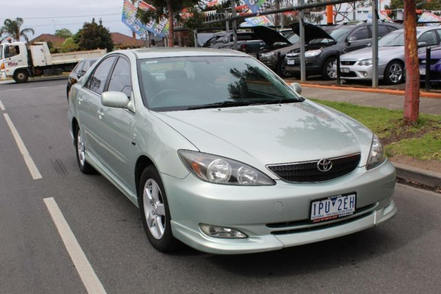 Used Toyota Camry ACV36R Sportivo, 2003 Toyota Camry ACV36R Sportivo Green 4 Speed Automatic Sedan