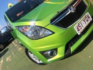 2014 Holden Barina Spark MJ MY14 CD 4 Speed Automatic Hatchback.