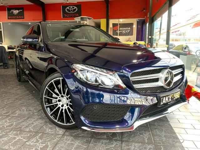 Used Mercedes-Benz C-Class W205 807MY C250 7G-Tronic +, 2016 Mercedes-Benz C-Class W205 807MY C250 7G-Tronic + Blue 7 Speed Sports Automatic Sedan