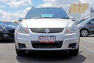 2009 Suzuki SX4 GYB S Silver 4 Speed Automatic Hatchback.