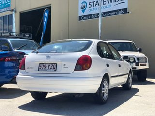2001 Toyota Corolla AE112R Ascent Seca White 5 Speed Manual Liftback.