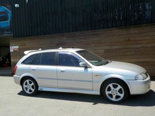 2002 Ford Laser KQ SR2 Silver 5 Speed Manual Hatchback.