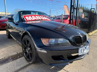 1997 BMW Z3 E36-7 Black 5 Speed Manual Roadster.