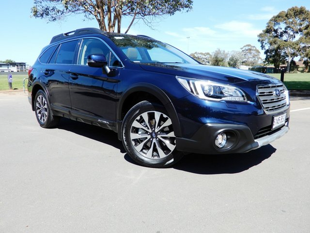 Used Subaru Outback B6A MY17 2.0D CVT AWD Premium, 2017 Subaru Outback B6A MY17 2.0D CVT AWD Premium Dark Blue Pearl 7 Speed Constant Variable Wagon