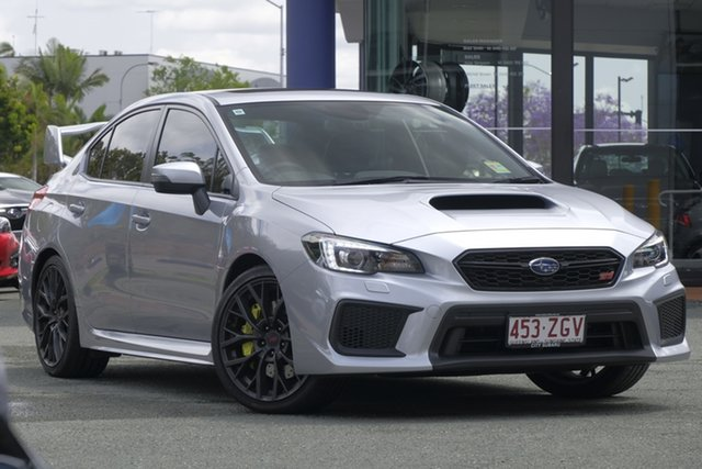 Demo Subaru WRX V1 MY18 STI AWD Premium, 2018 Subaru WRX V1 MY18 STI AWD Premium Ice Silver 6 Speed Manual Sedan