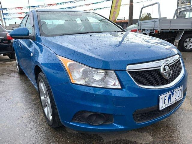 Used Holden Cruze JH Series II MY13 Equipe, 2013 Holden Cruze JH Series II MY13 Equipe Blue 6 Speed Sports Automatic Sedan