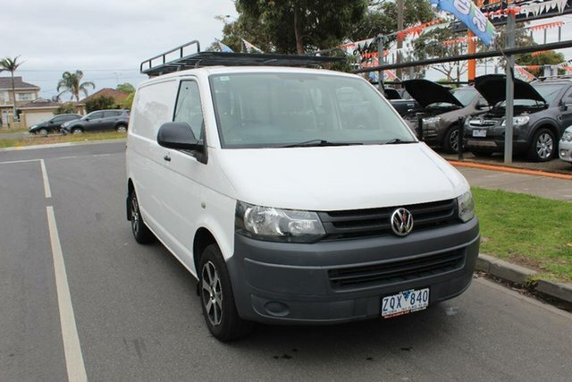 Used Volkswagen Transporter T5 MY13 TDI 340 SWB Low, 2012 Volkswagen Transporter T5 MY13 TDI 340 SWB Low White 7 Speed Auto Direct Shift Van