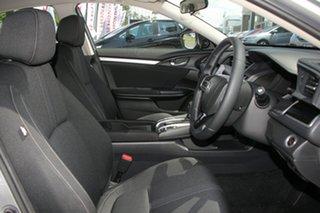 2019 Honda Civic 10th Gen MY19 VTi-L Lunar Silver 1 Speed Constant Variable Hatchback