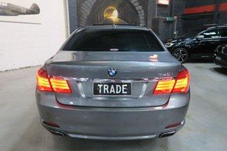 2009 BMW 7 Series F01 MY10 740i Steptronic Grey 6 Speed Sports Automatic Sedan