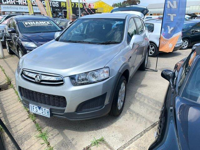 Used Holden Captiva CG MY15 7 LS, 2015 Holden Captiva CG MY15 7 LS Silver 6 Speed Sports Automatic Wagon