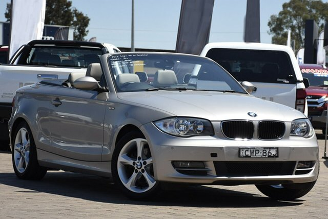 Used BMW 120i E88 MY09 120i, 2009 BMW 120i E88 MY09 120i Beige 6 Speed Automatic Convertible