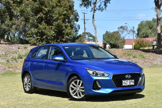 Used Hyundai i30 GD4 Series II MY17 Active, 2017 Hyundai i30 GD4 Series II MY17 Active Blue 6 Speed Sports Automatic Hatchback