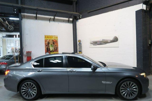 Used BMW 7 Series F01 MY10 740i Steptronic, 2009 BMW 7 Series F01 MY10 740i Steptronic Grey 6 Speed Sports Automatic Sedan
