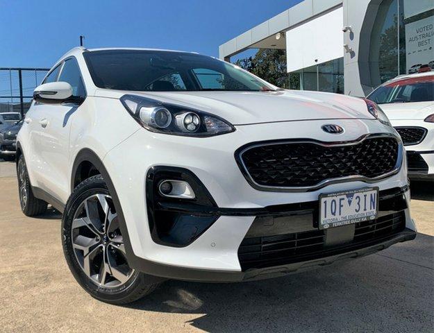 Demo Kia Sportage QL MY19 Si 2WD Premium, 2018 Kia Sportage QL MY19 Si 2WD Premium Clear White 6 Speed Sports Automatic Wagon