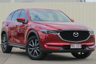 2017 Mazda CX-5 KF4WLA GT SKYACTIV-Drive i-ACTIV AWD Soul Red Crystal 6 Speed Sports Automatic Wagon.