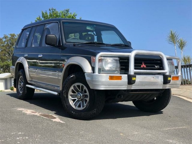 Used Mitsubishi Pajero NH GLS, 1993 Mitsubishi Pajero NH GLS Green 5 Speed Manual Wagon