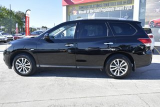 2014 Nissan Pathfinder R52 MY14 ST X-tronic 2WD Black/Grey 1 Speed Constant Variable Wagon