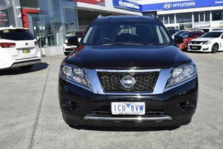2014 Nissan Pathfinder R52 MY14 ST X-tronic 2WD Black/Grey 1 Speed Constant Variable Wagon.