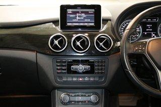 2013 Mercedes-Benz B250 246 MY13 BE Black 7 Speed Auto Direct Shift Hatchback