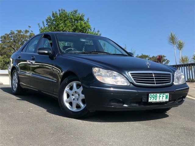 Used Mercedes-Benz S-Class W220 S320, 1999 Mercedes-Benz S-Class W220 S320 Blue 5 Speed Automatic Sedan