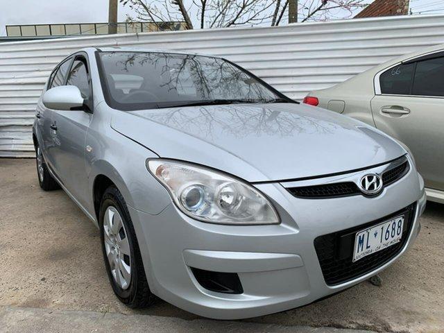 Used Hyundai i30 FD MY09 SX, 2009 Hyundai i30 FD MY09 SX Silver 4 Speed Automatic Hatchback