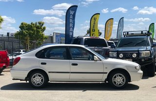 2001 Toyota Corolla AE112R Ascent Seca White 5 Speed Manual Liftback