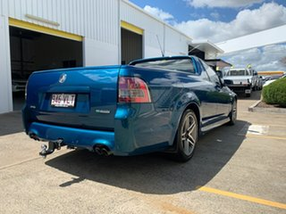 2011 Holden Ute VE II MY12 SV6 Green 6 Speed Manual Utility