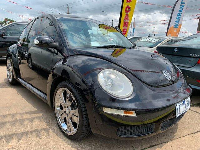 Used Volkswagen Beetle 9C MY2006 Miami Coupe, 2006 Volkswagen Beetle 9C MY2006 Miami Coupe Black 4 Speed Automatic Liftback