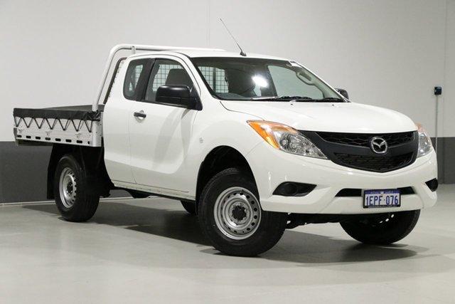 Used Mazda BT-50 MY13 XT Hi-Rider (4x2), 2014 Mazda BT-50 MY13 XT Hi-Rider (4x2) White 6 Speed Manual Dual Cab Chassis