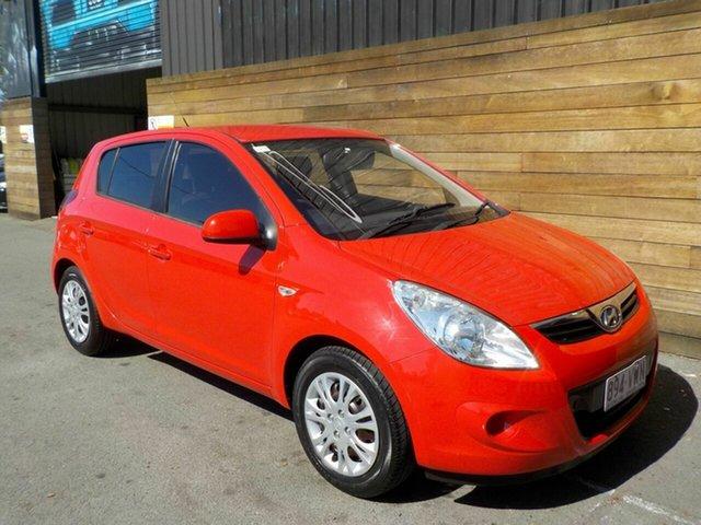 Used Hyundai i20 PB MY11 Active, 2010 Hyundai i20 PB MY11 Active Red 5 Speed Manual Hatchback