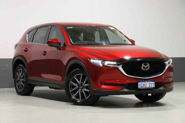 Used Mazda CX-5 MY17 Akera (4x4), 2017 Mazda CX-5 MY17 Akera (4x4) Red 6 Speed Automatic Wagon