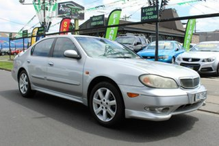 2003 Nissan Maxima A33 MY2003 ST-R Silver 4 Speed Automatic Sedan.