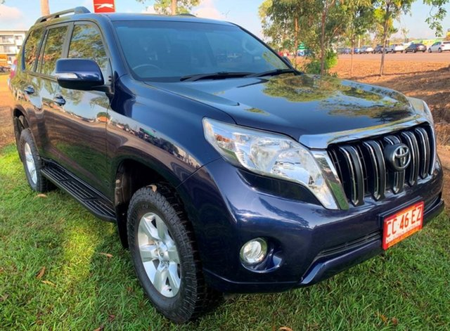 Used Toyota Landcruiser Prado KDJ150R MY14 GXL, 2013 Toyota Landcruiser Prado KDJ150R MY14 GXL Blue 5 Speed Sports Automatic Wagon