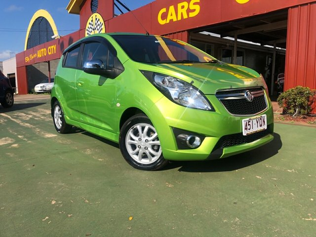 Used Holden Barina Spark MJ MY14 CD, 2014 Holden Barina Spark MJ MY14 CD 4 Speed Automatic Hatchback