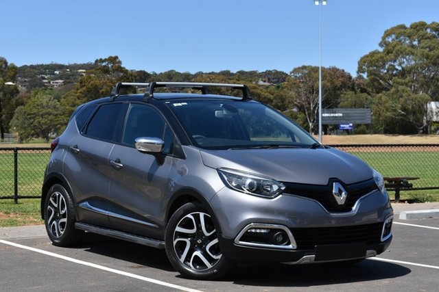 Used Renault Captur J87 Dynamique EDC, 2014 Renault Captur J87 Dynamique EDC Grey 6 Speed Sports Automatic Dual Clutch Hatchback