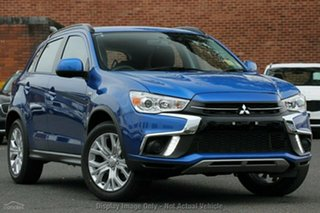 2019 Mitsubishi ASX XC MY19 ES 2WD Blue 6 Speed Constant Variable Wagon.