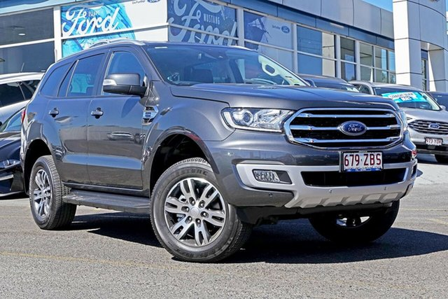 Used Ford Everest UA II 2019.00MY Trend 4WD, 2019 Ford Everest UA II 2019.00MY Trend 4WD Meteor Grey 10 Speed Sports Automatic Wagon
