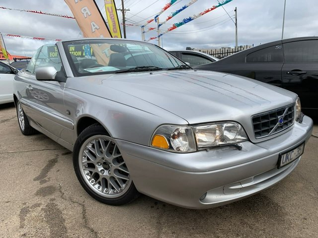 Used Volvo C70 MY04 , 2004 Volvo C70 MY04 Silver 4 Speed Automatic Convertible