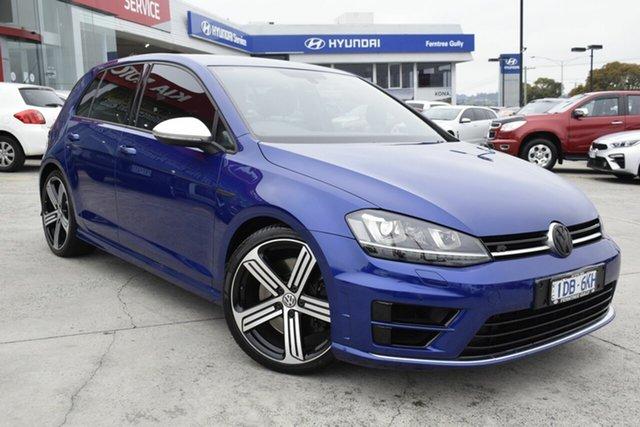 Used Volkswagen Golf VII MY15 R 4MOTION, 2014 Volkswagen Golf VII MY15 R 4MOTION Blue 6 Speed Manual Hatchback