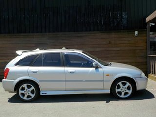 2002 Ford Laser KQ SR2 Silver 5 Speed Manual Hatchback