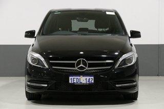 2013 Mercedes-Benz B250 246 MY13 BE Black 7 Speed Auto Direct Shift Hatchback.
